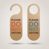 Do Not Disturb. Design. EPS10 royalty free illustration