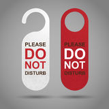 Do Not Disturb Stock Photo