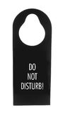 Do Not Disturb Door Sign Royalty Free Stock Photos