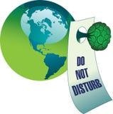 Do not disturb environment Stock Image