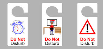 Do not disturb Stock Image