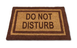 Do Not Disturb Matt Stock Image