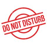Do Not Disturb rubber stamp Royalty Free Stock Photos