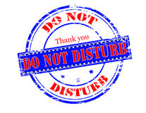 Do not disturb Royalty Free Stock Photography