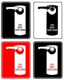 Do not disturb - sign Stock Image