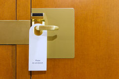 Do Not Disturb Sign Royalty Free Stock Images