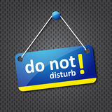 Do not disturb sign Stock Photos