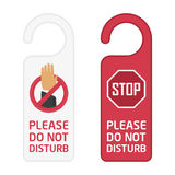 Do not disturb sign. royalty free illustration