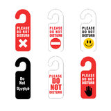 Do not disturb sign Stock Photography
