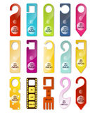 Do not disturb signs Stock Images
