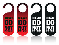 Do not disturb signs Stock Photos