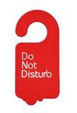 Do not disturb tag