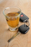Do not drink and drive Royalty Free Stock Images