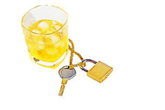 Do not drink and drive Stock Photography