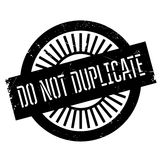 Do not duplicate stamp. Grunge design with dust scratches. Effects can be easily removed for a clean, crisp look. Color is easily changed Stock Photo