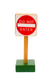 Do not enter Royalty Free Stock Photo