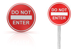 Do not enter Stock Photo