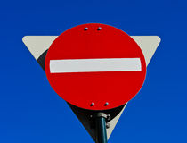 Do not enter sign Stock Photo