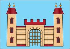 DO NOT ENTER SIGN. Colored abstract vector icon `do not enter Vector Illustration