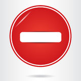 Do not enter sign. Stock Image