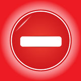 Do not enter sign. Royalty Free Stock Images