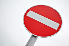 Do not enter traffic sign Royalty Free Stock Images