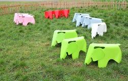 Do not feed the elephants Stock Photography