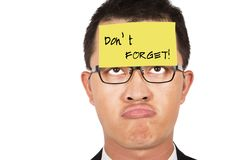 Free Do Not Forget It Stock Photos - 15901173