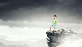 Free Do Not Let Your Child Walking Around. Mixed Media Stock Photo - 97339130
