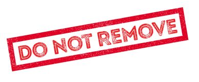 do not remove