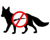 Do not shoot fox Stock Images