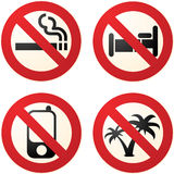 Do not signs Royalty Free Stock Image