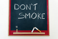 Do not smoke Royalty Free Stock Image