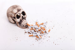 Do not smoke and you will be alive Stock Photo