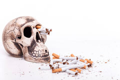 Do not smoke and you will be healthy Royalty Free Stock Photo