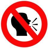Do not speak Royalty Free Stock Image