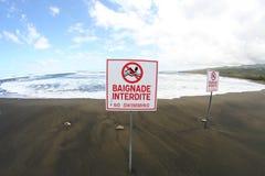Free Do Not Swim Here! Stock Photos - 22356643