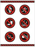 Do not symbols Stock Photos