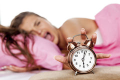 Do not wake me up Stock Photo