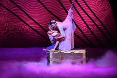 """Do not want to say goodbye-Dance drama """"The Dream of Maritime Silk Road"""". Dance drama """"The Dream of Maritime Silk Road"""" centers on the plot of two Stock Image"""