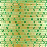 Do ouro pequeno da listra da simetria da estrela da ramadã teste padrão sem emenda ilustração royalty free