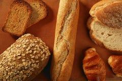 Do pão vida variada ainda Fotografia de Stock