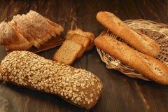 Do pão vida variada ainda Foto de Stock Royalty Free