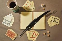 Do pôquer vida ainda Fotografia de Stock