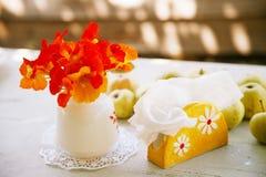 Do país vida ainda: flores da chagas Imagem de Stock Royalty Free