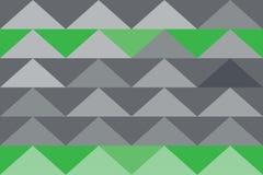 Do papel de parede abstrato do estilo da cor da gradação da textura do fundo bandeira moderna do triângulo Ilustração Stock