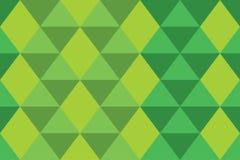 Do papel de parede geomatric da bandeira da textura da gradação do verde do triângulo do fundo estilo moderno Ilustração Royalty Free