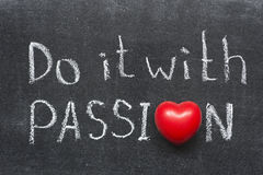 Do with passion Stock Photos