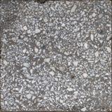 Do preto branco natural da listra do granito pontos azuis fotografia de stock royalty free