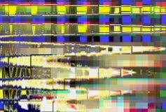 Do pulso aleatório abstrato digital do ruído de fundo do pulso aleatório ruído de fundo abstrato digital, grunge ilustração royalty free